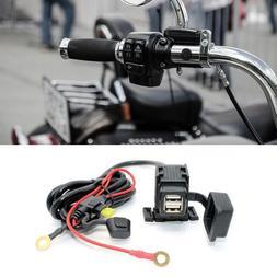 12v Waterproof Motorbike <font><b>Motorcycle</b></font> USB