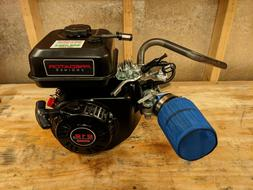 Predator 212cc Stage 1 Go Kart Mini Bike Racing Engine - Exh
