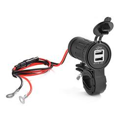XCSOURCE 12-24V 3.1A Dual USB Charger Motorcycle Power Outle