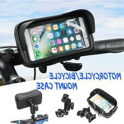 360° Waterproof Motorcycle Bike Handlebar Cell Phone GPS Ho