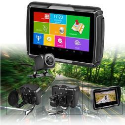 "4.3"" Android Car Motorcycle GPS DVR Camera Truck Navigation"