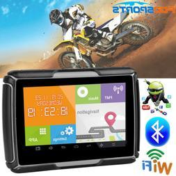 """4.3 """"Android GPS Navigator Bluetooth Motorcycle Car Naviga"""