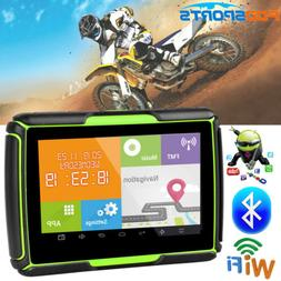 "4.3"" Android Motorcycle GPS Navigation 8GB Car Truck SAT NAV"