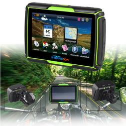 "4.3"" Bluetooth Car Motorcycle GPS Navigation Waterproof Moto"