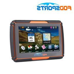 "4.3"" Bluetooth Motorcycle GPS Navigation 8GB Waterproof IPX7"