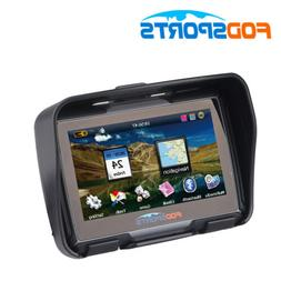 """4.3"""" Motorcycle GPS Waterproof Navigator Navigation Car Moun"""