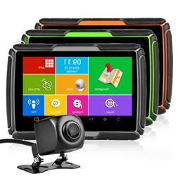 "4.3"" Car Motorcycle GPS Navigator 8GB Waterproof Navigation"