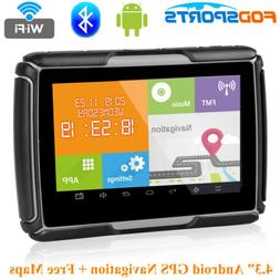 "4.3"" Android Motorcycle GPS Navigator Bluetooth Navigation C"
