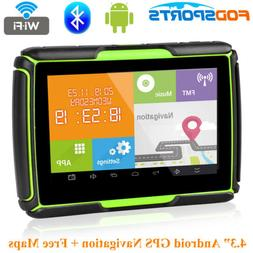 4.3 inch Bluetooth Motorcycle GPS Navigation Android WiFi Ca