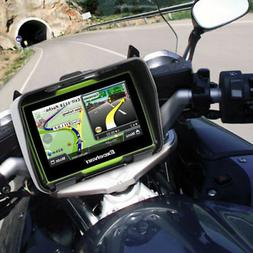 "4.3"" Motorcycle Car GPS SAT NAV Bluetooth Navigation Waterpr"