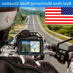 5.0'' Andriod 6.0 Touch Screen Motorcycle Car Bike GPS Navig