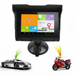 5 inch Waterproof Android 4.4 Car Motorcycle GPS Bluetooth F