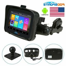 5 inch Android 6.0 BT Motorcycle Car GPS Navigation SAT NAV