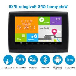 5'' Android GPS Navigator 512M 8GB Motorcycle Car Bluetooth