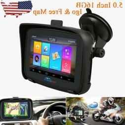 5 android motorcycle car gps navigation bt