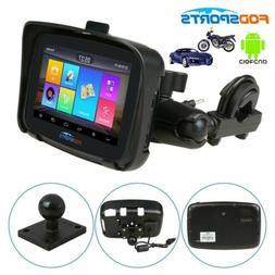 "5"" Motorcycle GPS Navigation Navigator 16GB Car BT SAT NAV W"