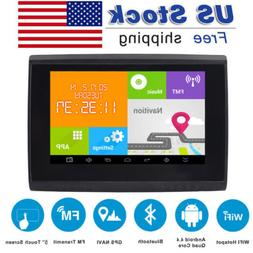 "5"" Motorcycle GPS Sat Nav Navigation 8GB Touch Screen IPX7 W"