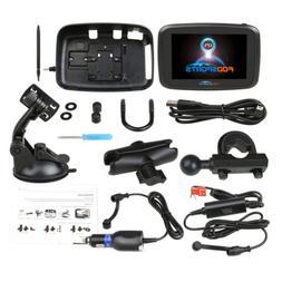 "5"" Motorcycle GPS SAT NAV Navigation Navigator 16GB Touch Sc"