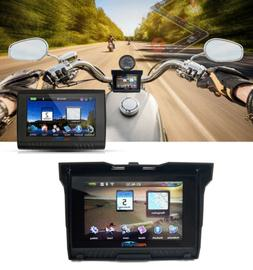 "5"" TFT 256M RAM Waterproof Bluetooth Motorcycle GPS Navigato"