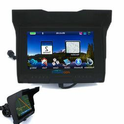 5inch WiFi BT Motorcycle Car GPS Navigation SAT NAV Bluetoot