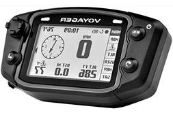 Trail Tech 912-102 Voyager Stealth Black Moto-GPS Computer