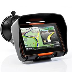 """All Terrain 4.3 Inch Motorcycle GPS Navigation System """"Rage"""""""