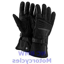 BMW Genuine Motorcycle Atlantis Waterproof Leather Gloves Bl