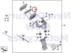BMW Genuine Motorcycle Clip For GPS Preparations S1000XR R12
