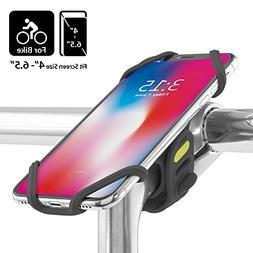 Universal Bike Phone Mount, Bicycle Stem Handlebar Cell Phon