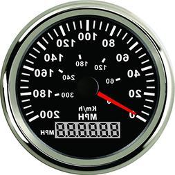 ELING Waterproof MPH GPS Speedometer Odometer 0-200MPH For C