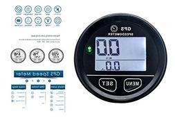 GPS Speedometer OZ-USA 60mm gauge odometer battery meter dig