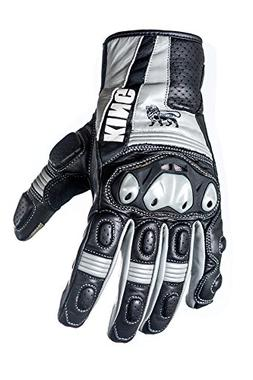 Motorcycle Sport Biker Gloves Grackle Premium Leather