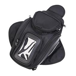 Motorcycle Tank Bag, Universal Waterproof with Strong Magnet