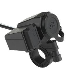 Motorcycle Waterproof Cigarette Lighter USB One Machine Powe