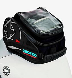 Oxford OL175 X 4 Black Magnetic Tank 'N' Trailer Motorcycle