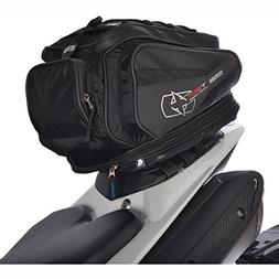 Oxford OL335 Black 30 L Tail pack ,1 Pack
