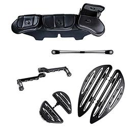 Set For 1996-2013 Harley Touring Driver Passenger Floorboard