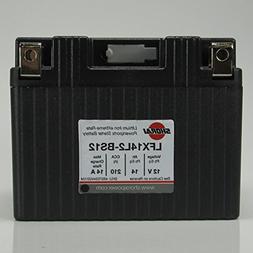 Shorai LFX14L2-BS12 LFX Lithium Iron Light Weight High Perfo