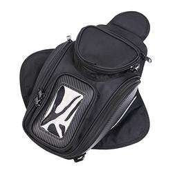 TESWNE Universal Motorcycle Tank Bag Waterproof with Strong