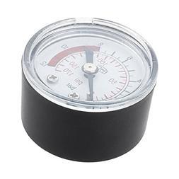 TOOGOO 0-12BAR 0-170PSI 10mm Thread Gas Air Pump Pressure Ga