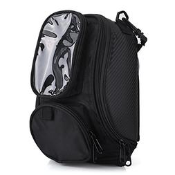 Universal Motorcycle Tank Bag Magnetic Backpack Strap Mount