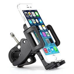 Bicycle Mount Phone Holder Handlebar Swivel Cradle Rotating