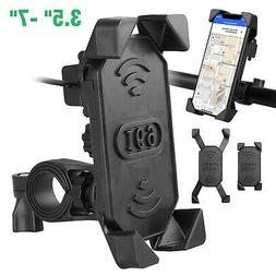 Bike ATV Cell Phone GPS Mount Holder USB Charger For Harley
