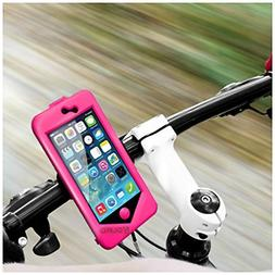 Aduro Sport Bike Mount for IPhone 5/5S PINK Color