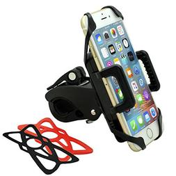 Bike Phone Mount, H-Raytech Cell Phone Bicycle Motorcycle Ba