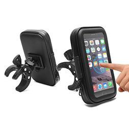 Bike Phone Mount, AEMIAO Universal Waterproof Bicycle Handle