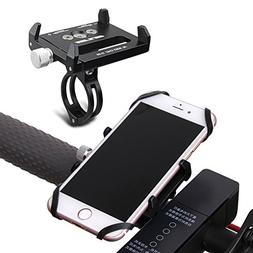 GUB Bike Phone Mount Bike Holder,Bicycle & Motorcycle Handle