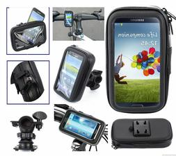Black MAGNETIC Cell PHONE Clear CASE Holder Motorcycle Gas T