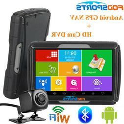 Bluetooth Car Motorcycle GPS SAT NAV Android WiFi Truck Navi