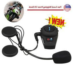 BT Bluetooth Motorcycle Helmet Intercom Interphone compatibl